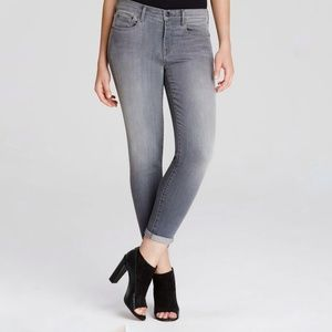 Vince Mason relaxed jeans Rosewood gray rolled 24